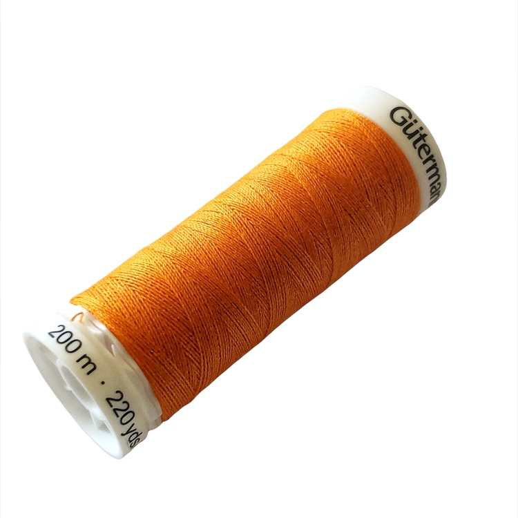 Sytråd polyester 200m orange 350