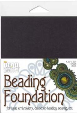 Beading foundation svart 1p