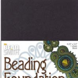 Beading foundation svart 1p