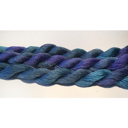 Broderigarn Silke superfin blå