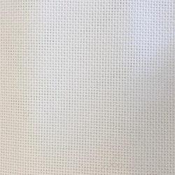 Aidaväv 4,5 vit 50x55cm