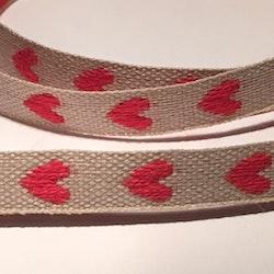 Dekorationsband hjärta