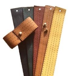 Armband läder ljusbrun