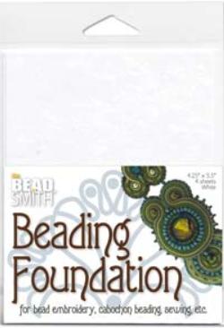 Beading foundation stor vit