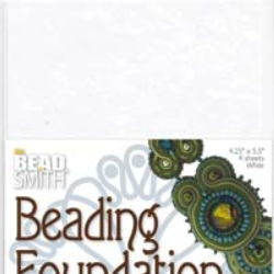 Beading foundation stor vit