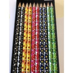 Blyertspenna Marimekko svart