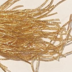 Bullion wire/bright check 1mm guld