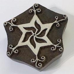 Blockstämpel Chakra 6