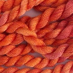 Broderigarn Silke fin orange