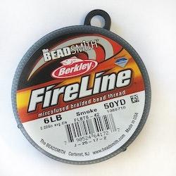 Fireline pärltråd 6lb smoke