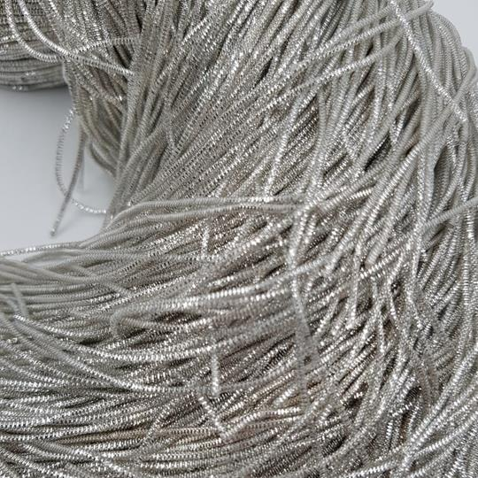 Bullion wire 1mm silver