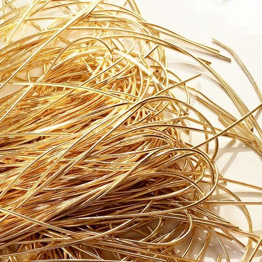 French wire 1mm guld