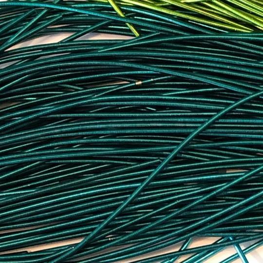 French wire 1mm jadegrön