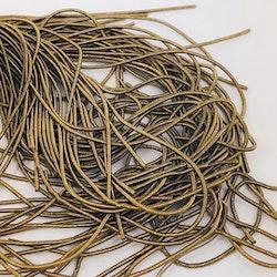 French wire 1mm matt antikguld