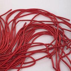 French wire 1mm matt röd