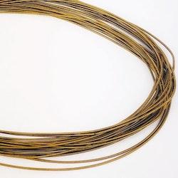 Gimp 1mm guldbrun