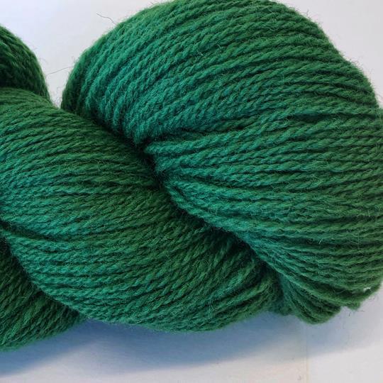 Plädgarn 2-tr grön 214