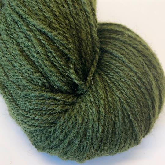 Plädgarn 2-tr grön 259