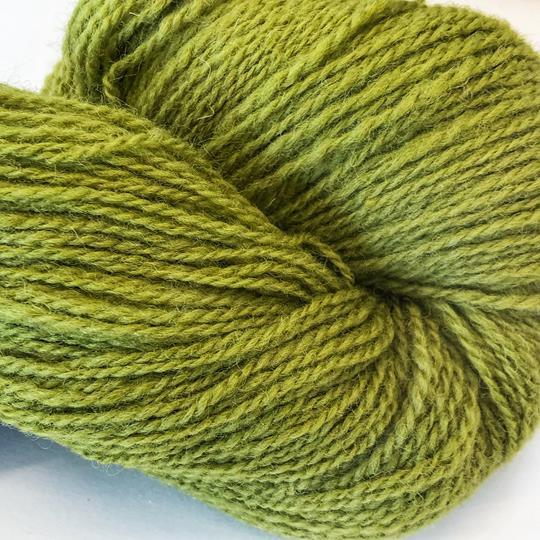 Plädgarn 2-tr grön 260