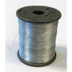 Metallictråd Zari 0,1mm silver