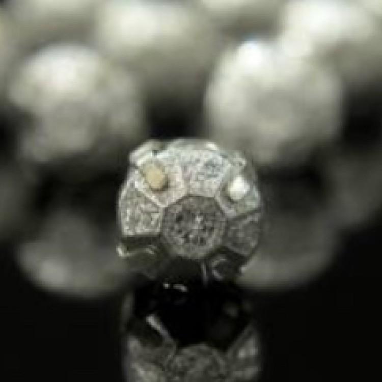 Montee 4mm matt silver