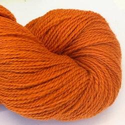 Plädgarn 2-tr orange 208