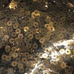 Paljett rund 2,5mm antik guld