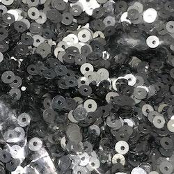 Paljett rund 2,5mm silver