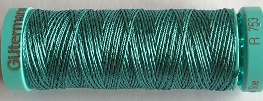 Knapphålssilke turkos 107
