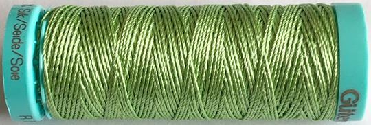 Knapphålssilke grön 153
