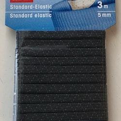 Resårband svart