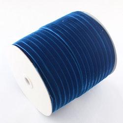 Sammetsband blå