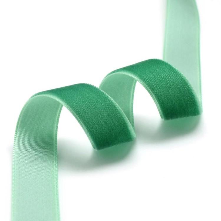 Sammetsband grön