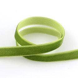 Sammetsband olivgrön