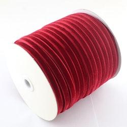 Sammetsband röd