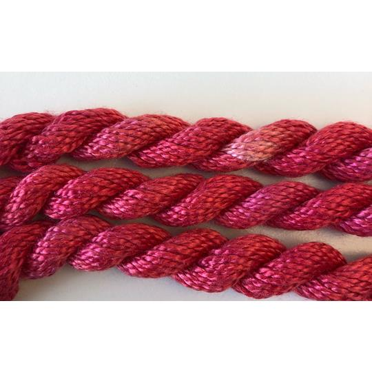Broderigarn Silke Perle 5 röd