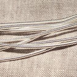 Pearl purl No3 silverplätterad