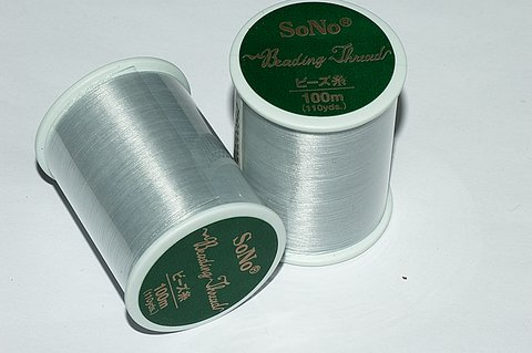 SONO pärltråd grå