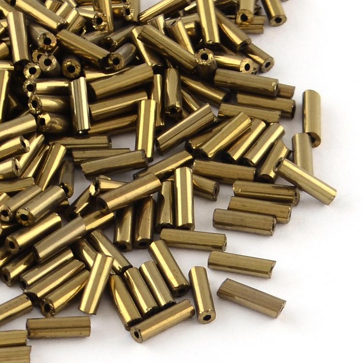 Stavpärla 6 mm brons