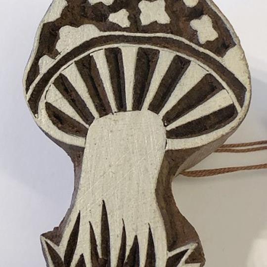 Blockstämpel svamp