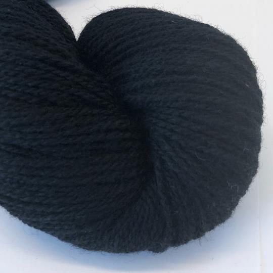 Plädgarn 2-tr svart