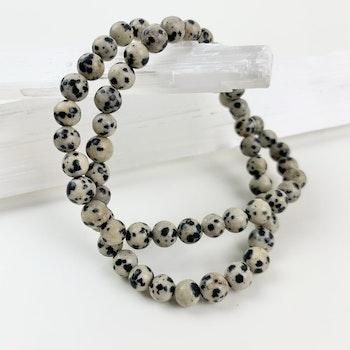 Soul candy armband - dalmatinerjaspis