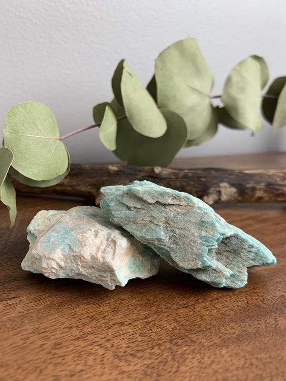 Amazonit, touchstone, palmstone, trumlad
