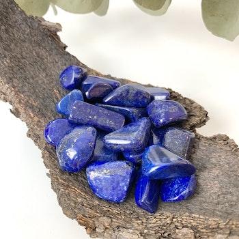 Lapis Lazuli, trumlade stenar