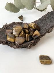 Tigeröga, trumlade stenar