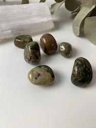 Ryolit, trumlade stenar