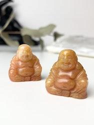 Buddha av orange Aventurin