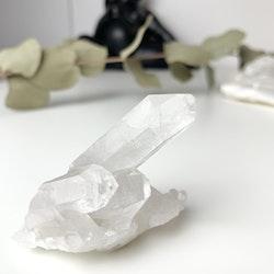 Bergkristall, clear quartz, naturliga kluster #B