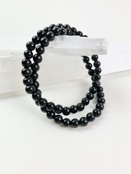 Soul candy armband - svart obsidian