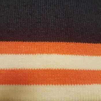 Marin mudd med orange rand